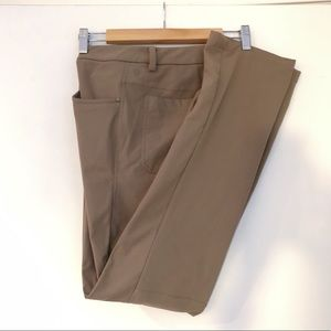 Lululemon ABC pant (regular) size 32 (khaki color)